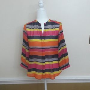 Banana Republic Semi Sheer Blouse
